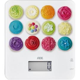 Balanza digital de cocina Cupcakes ADE