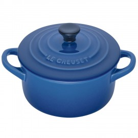 Mini Cocotte redonda Le Creuset 10 Marseille (azul)