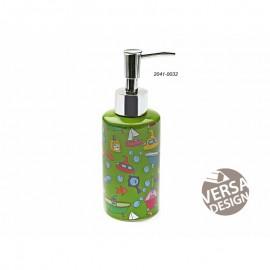 Dispensador jabón deco verde
