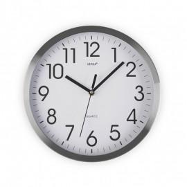 Reloj de pared aluminio 30,5 cm