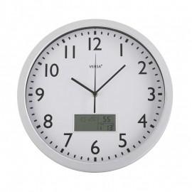 Reloj de pared meteo blanco 35 cm