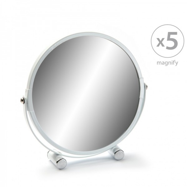 Espejo doble cara 7x aumento