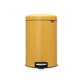 Cubo newicon pedal 20 l. Golden mustard Brabantia