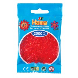 Hama mini 13 Rojo traslúcido