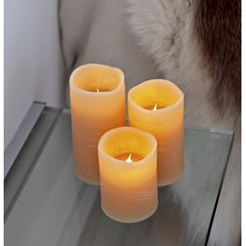 Velas led decorativas Sirius Tenna Blancas