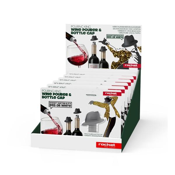 Escanciador de vino y tapón sombrero - Things-store