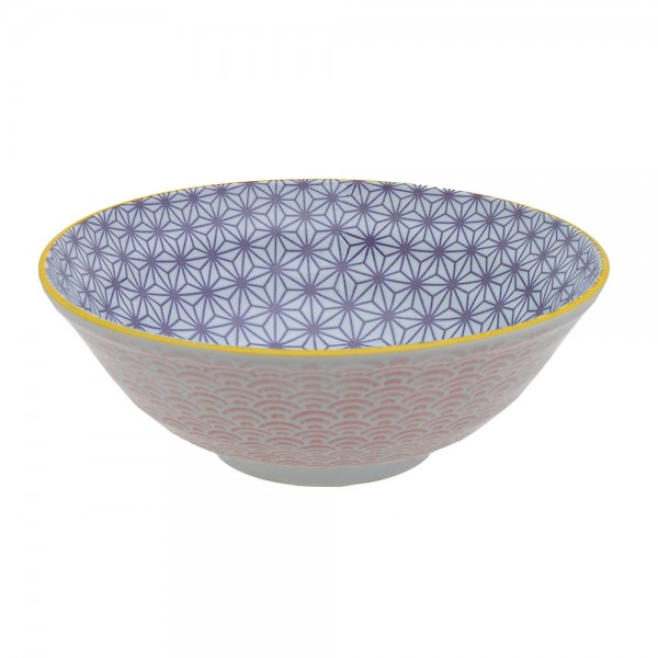 Bowl Geo eclectic 21 x