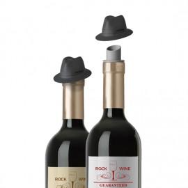 Escanciador de vino y tapón sombrero