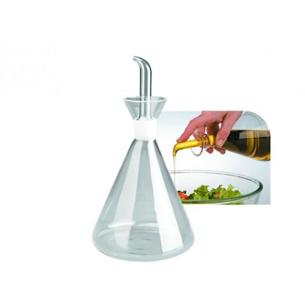 Aceitera probeta de cristal 150 ml