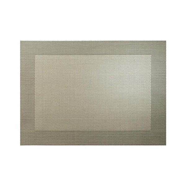 Mantel individual Pvc trenzado cobre
