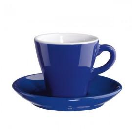 Coppa set de dos espresos con platos malva