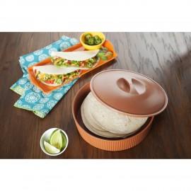 Recipiente para calentar tortillas mejicanas Nordic Ware