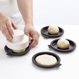 Moldes para hacer pan de hamburguesa Lékué