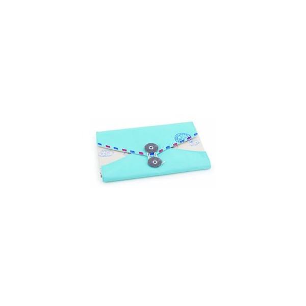 Jabonera Grassy azul