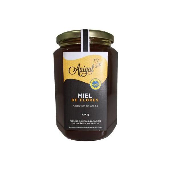 Miel de flores Apigal 1000 gr