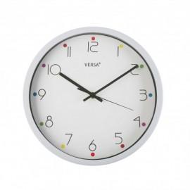 Reloj de pared aluminio 20 cm
