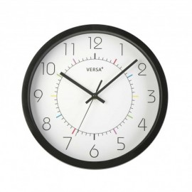 Reloj de pared blanco puntos