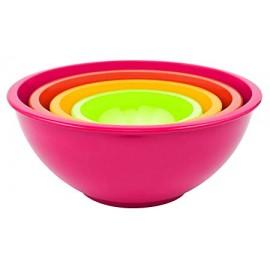 Rosy juego de cuencos de melamina