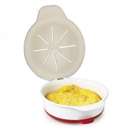 Preparador de huevos al microondas