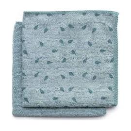 Paño limpiaplatos de microfibra gris claro Brabantia set de 2