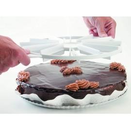 Marcador de tartas en porciones (10-12)