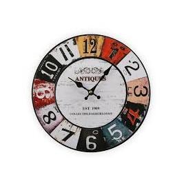 Reloj coche 30 cm.