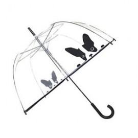 Paraguas automático mariposas Smati