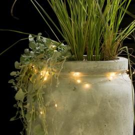 Luces decorativas led flores de colores