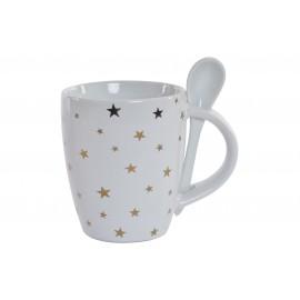 Mug de porcelana para infusiones 250ml