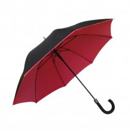 Paraguas automático doble rojo