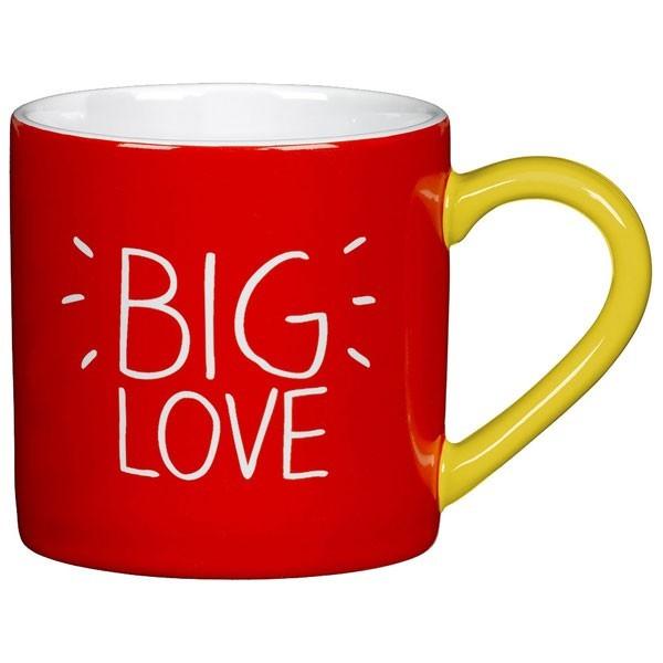Taza con mensaje Big Love