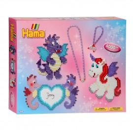 Set de Hama dragón mágico