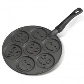 Sartén para tortitas smiley face Nordic Ware