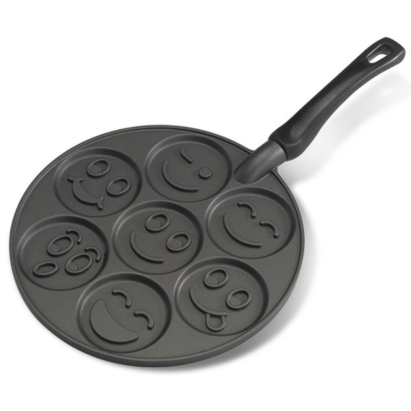 Sartén para tortitas smiley face Nordic Ware