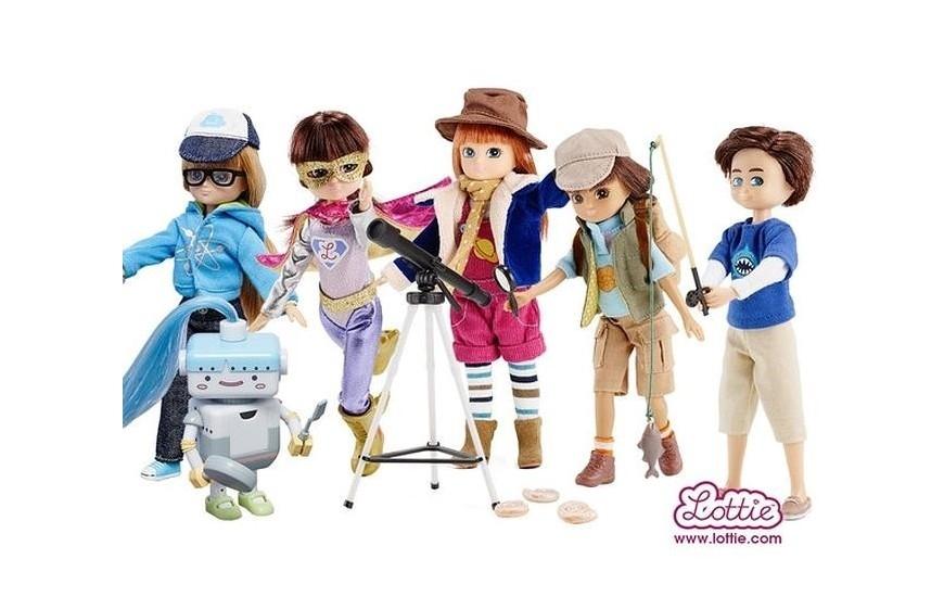 Muñecas y juegos de imitación
